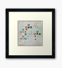 One Step Ahead Framed Print