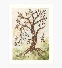 The Tree of Contemplation Art Print