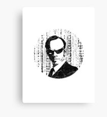 Agent Smith - The Matrix Canvas Print