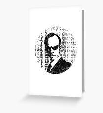 Agent Smith - The Matrix Greeting Card