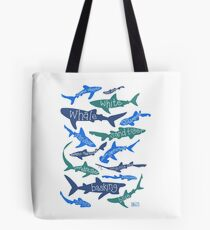 Sharks! Tote Bag