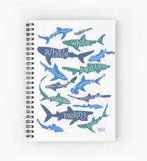 Sharks! Spiral Notebook