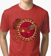 EarthBound Zero - Dragon Title Tri-blend T-Shirt