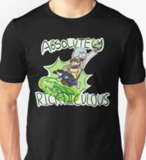 Absolutely Rick-diculous [With Text] T-Shirt