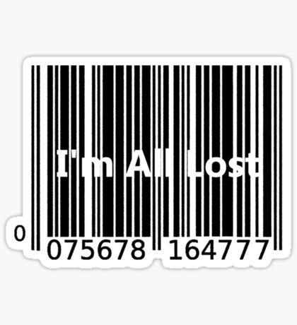 I'm All Lost Sticker