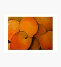 Apricots Art Print