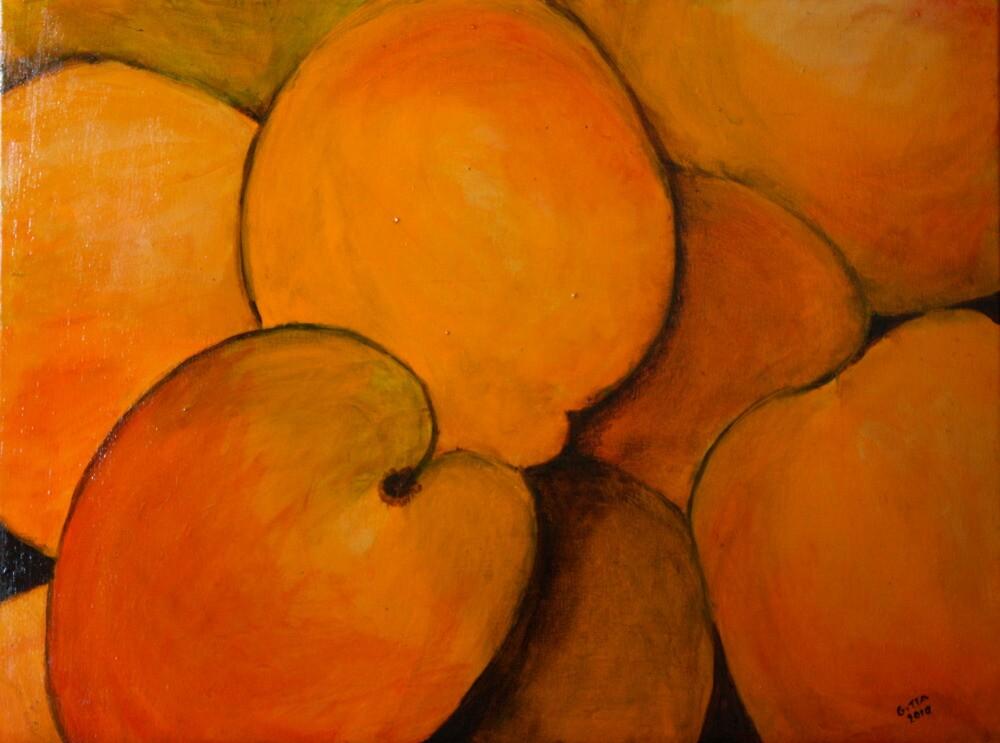 Apricots by Gitta Brewster