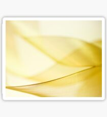 Gold Ribbon Sticker