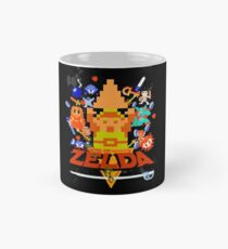 Star Wars Movie Poster Meets A Zelda Themed Epic Win! Mug