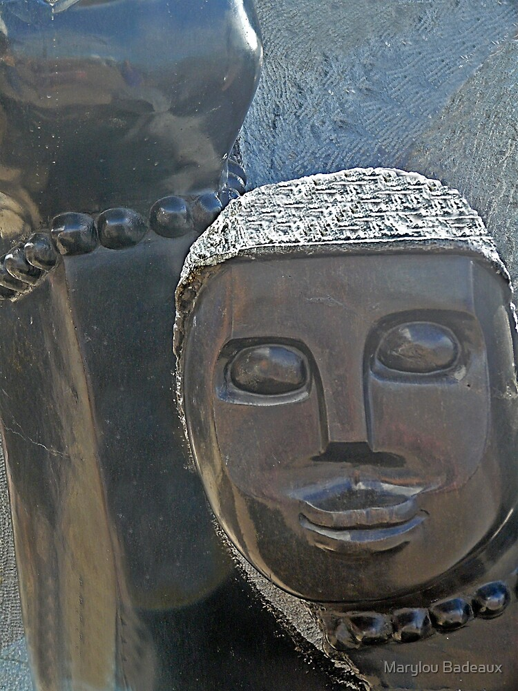 African Sculpture by Marylou Badeaux