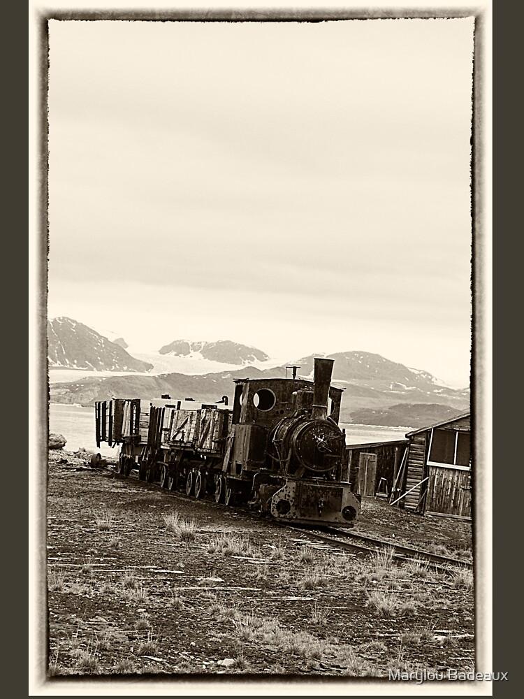 Vintage coal train by MarylouBadeaux