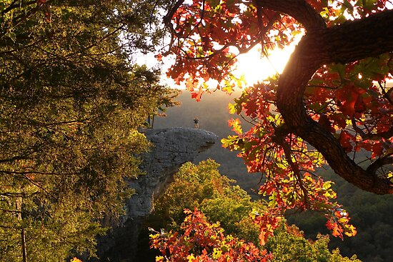 Autumn's Morning Glow, Hawks Bill Crag by NatureGreeting Cards ©ccwri