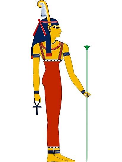 Láminas Fotográficas Maat Dioses Egipcios Diosas Y Deidades De