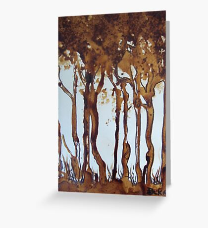 Nescafe Forest Greeting Card