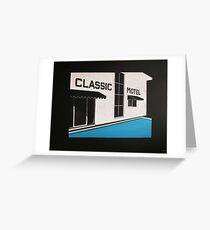 Classic Motel Greeting Card