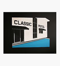 Classic Motel Photographic Print