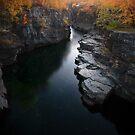 Abisko Canyon by CalleHoglund