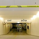 EXIT/ENTER by Bruce  Dickson