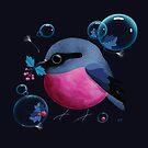 Pink Robin by Karin Taylor