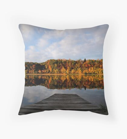 Peaceful Surroundings Throw Pillow