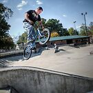Bike Jump by Eric Scott Birdwhistell