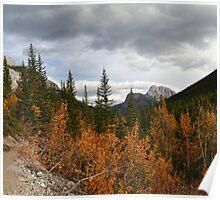 Autumnal mountains Poster
