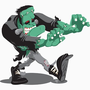 Frankenstein's Monster by studioretardo