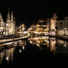Gent by night by Adri  Padmos