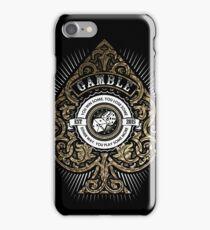 Gamble iPhone Case/Skin