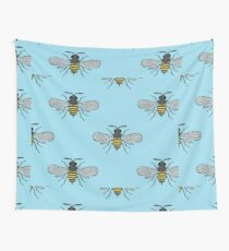 antique bees Wall Tapestry
