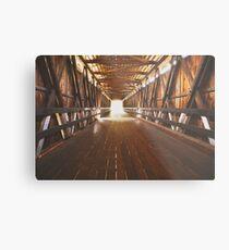 Historic Covered Bridge  Metal Print
