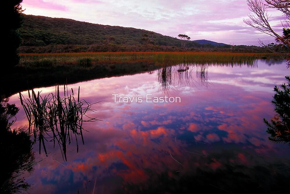 Dusk - Freshwater Lake by Travis Easton
