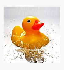 Duck! Photographic Print