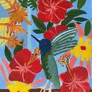 Hummingbird Zionart Zion Levy Stewart by zionart