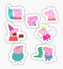 Peppa Pig Sticker Sheet Sticker