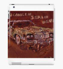 1974 CADILLAC SEDAN DeVille CAR iPad Case/Skin
