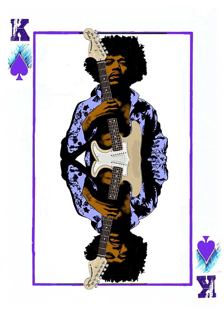 Hendrix: The King by GraphicMonkey