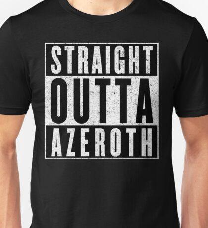 MMORPG Gamer with Attitude Unisex T-Shirt