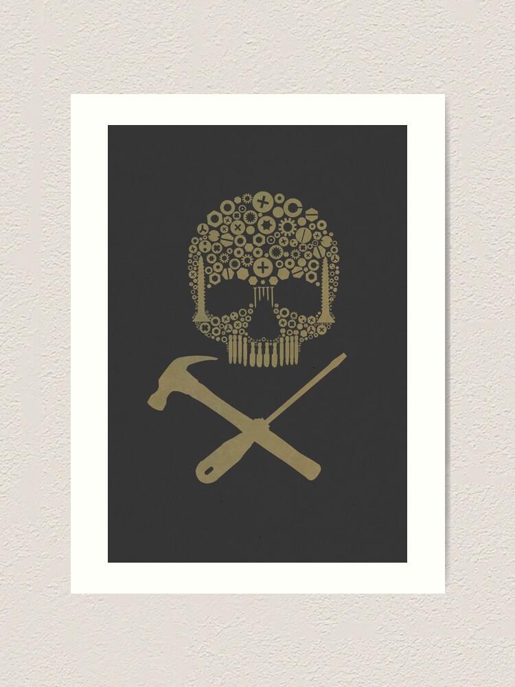 Alternate view of Skull v.2 Art Print