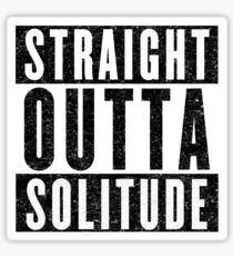 Adventurer with Attitude: Solitude Sticker