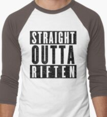 Adventurer with Attitude: Riften Men's Baseball ¾ T-Shirt