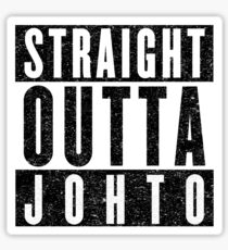 Trainer with Attitude: Johto Sticker