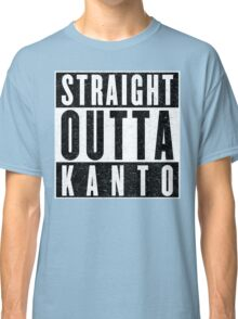 Trainer with Attitude: Kanto Classic T-Shirt