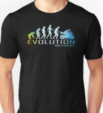 Motorcycle Ape To Evolution T-Shirt