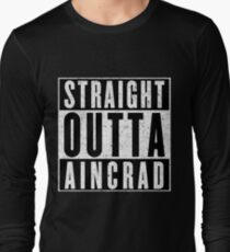 SAO Survivor with Attitude Long Sleeve T-Shirt