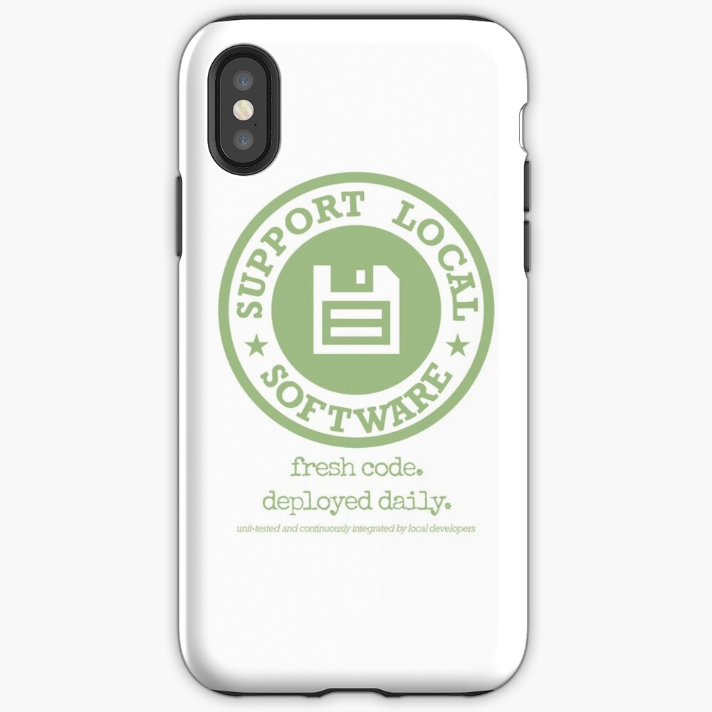 Fresh Code. Deployed Daily iPhone Case & Cover