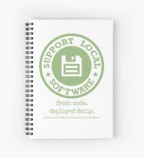 Fresh Code. Deployed Daily Spiral Notebook