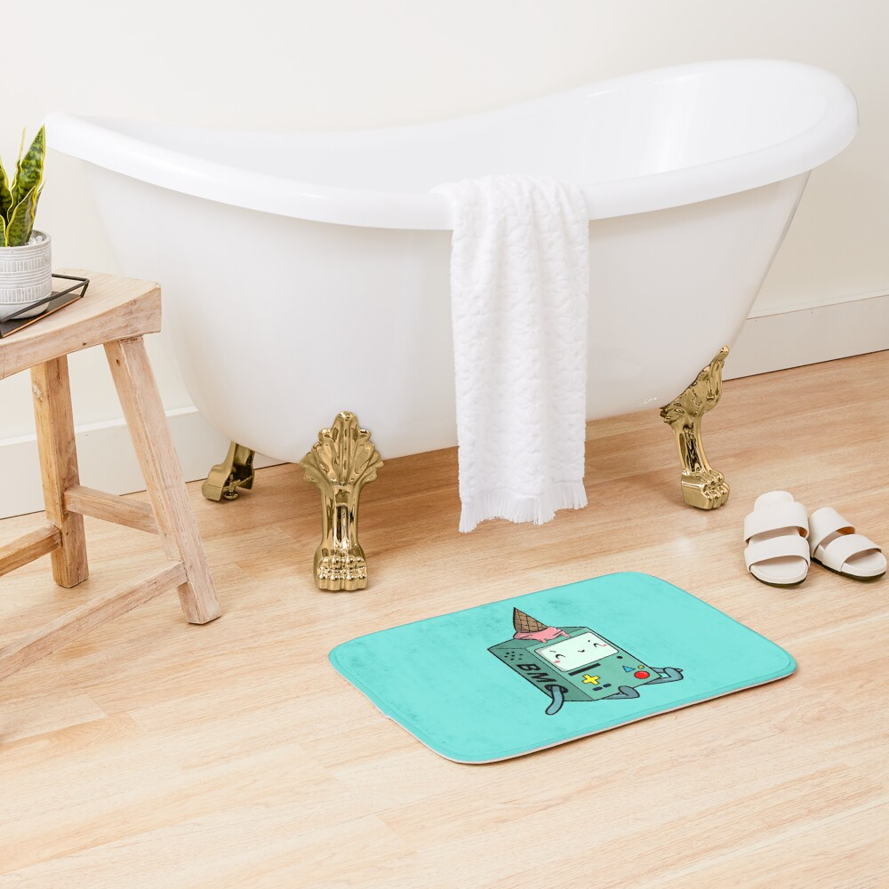 BMO adventure time Bath Mat