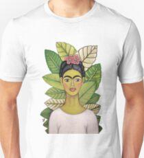 frida kahlo young and happy Unisex T-Shirt