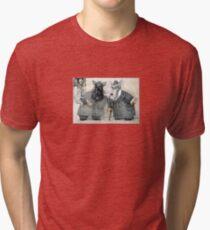 Dog Detectives by Tim Raglin Tri-blend T-Shirt